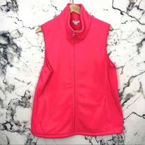 💜3/$25💜 Old Navy Florescent Pink Vest Women XL